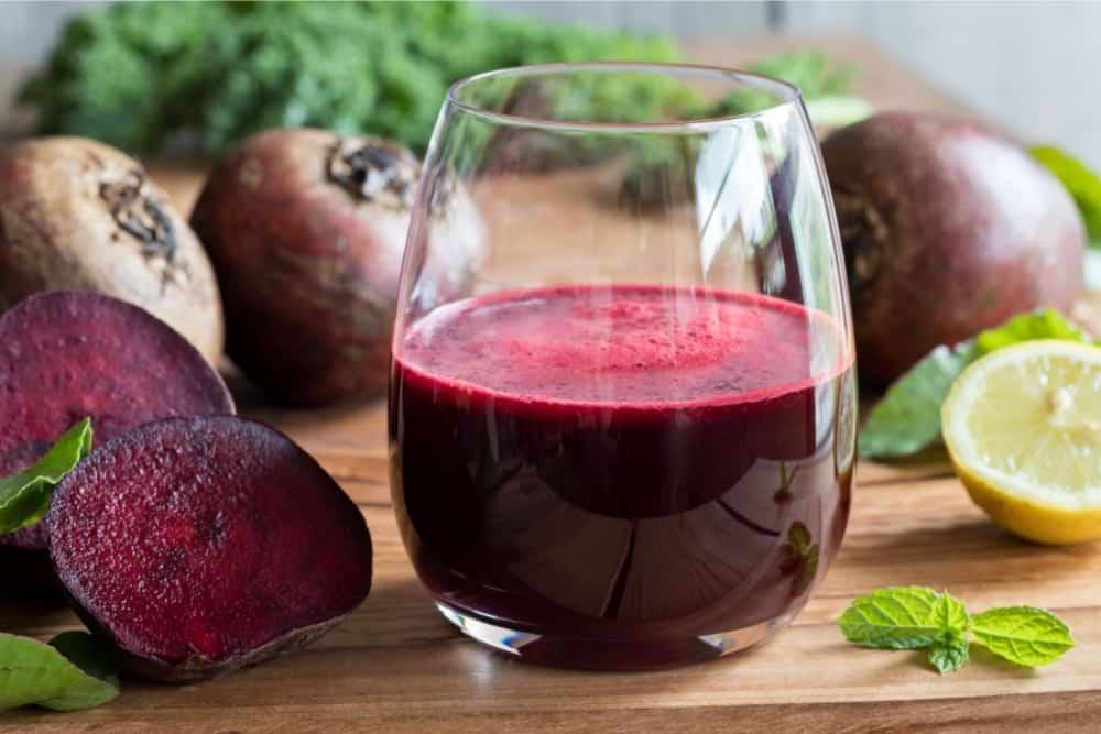 Red beet juice