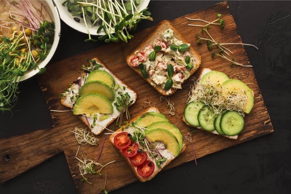 ways to eat microgreens